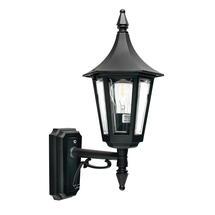 Rimini Up Wall Lantern - Black