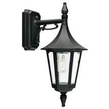 Rimini Down Wall Lantern - Black