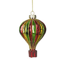 Coloured Glass Air Balloon - Green