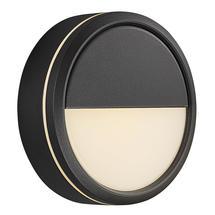 Ava Bluetooth LED Outdoor Wall light - Black
