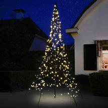 3D 3m Christmas Tree with Static Warm White 360 LEDs