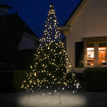 3D 3m Christmas Tree with Warm White 480 Twinkling LEDs