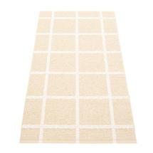 Ada - Cream / White Metallic - 70 x 150