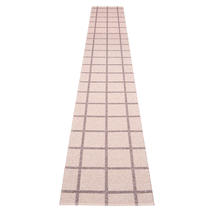 Ada - Pale Rose / Lilac Metallic  - 70 x 450