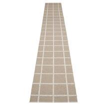 Ada - Dark Linen / Stone Metallic - 70 x 450