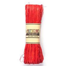 Raffia - Ribbon Red