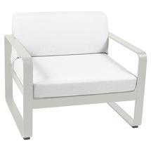Bellevie Outdoor Armchair - Clay Grey/Off White