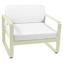 Bellevie Outdoor Armchair - Willow Green/Off White