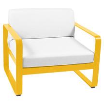 Bellevie Outdoor Armchair - Honey/Off White
