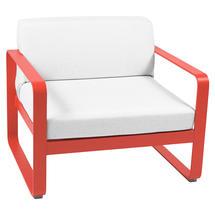 Bellevie Outdoor Armchair - Capucine/Off White