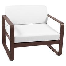 Bellevie Outdoor Armchair - Russet/Off White