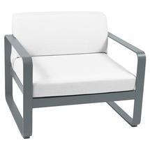Bellevie Outdoor Armchair - Storm Grey/Off White