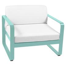 Bellevie Outdoor Armchair - Lagoon Blue/Off White