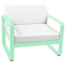 Bellevie Outdoor Armchair - Opaline Green/Off White