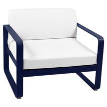 Bellevie Outdoor Armchair - Deep Blue/Off White