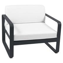 Bellevie Outdoor Armchair - Anthracite/Off White