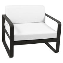 Bellevie Outdoor Armchair - Liquorice/Off White