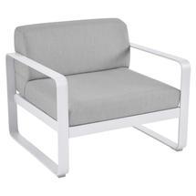 Bellevie Outdoor Armchair - Cotton White/Flannel Grey