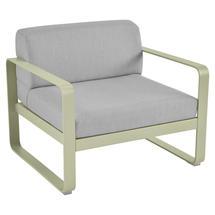 Bellevie Outdoor Armchair - Willow Green/Flannel Grey