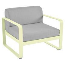 Bellevie Outdoor Armchair - Frosted Lemon/Flannel Grey