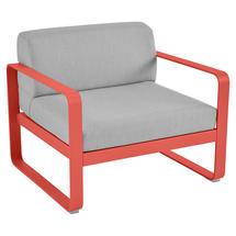 Bellevie Outdoor Armchair - Capucine/Flannel Grey