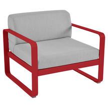 Bellevie Outdoor Armchair - Poppy/Flannel Grey