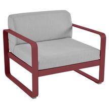 Bellevie Outdoor Armchair - Chilli/Flannel Grey