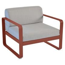Bellevie Outdoor Armchair - Red Ochre/Flannel Grey