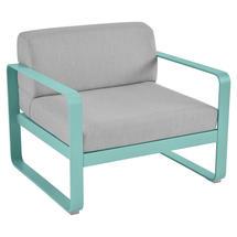 Bellevie Outdoor Armchair - Lagoon Blue/Flannel Grey