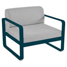 Bellevie Outdoor Armchair - Acapulco Blue/Flannel Grey