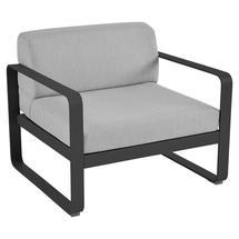 Bellevie Outdoor Armchair - Liquorice/Flannel Grey