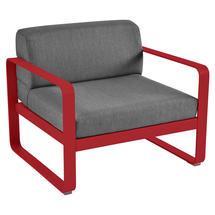 Bellevie Outdoor Armchair - Poppy/Graphite Grey