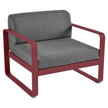 Bellevie Outdoor Armchair - Chilli/Graphite Grey