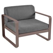 Bellevie Outdoor Armchair - Russet/Graphite Grey