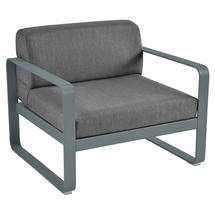Bellevie Outdoor Armchair - Storm Grey/Graphite Grey