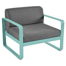 Bellevie Outdoor Armchair - Lagoon Blue/Graphite Grey