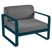 Bellevie Outdoor Armchair - Acapulco Blue/Graphite Grey