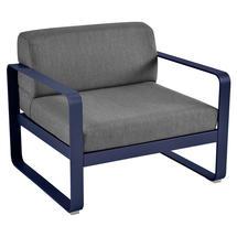 Bellevie Outdoor Armchair - Deep Blue/Graphite Grey