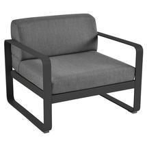 Bellevie Outdoor Armchair - Liquorice/Graphite Grey