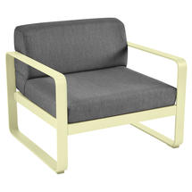 Bellevie Outdoor Armchair - Frosted Lemon/Graphite Grey