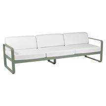 Bellevie Outdoor 3 Seater Sofa - Cactus/Off White