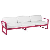 Bellevie Outdoor 3 Seater Sofa - Pink Praline/Off White