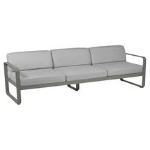 Bellevie Outdoor 3 Seater Sofa - Rosemary/Flannel Grey