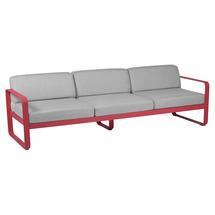 Bellevie Outdoor 3 Seater Sofa - Pink Praline/Flannel Grey