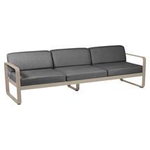 Bellevie Outdoor 3 Seater Sofa - Nutmeg/Graphite Grey