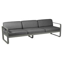Bellevie Outdoor 3 Seater Sofa - Rosemary/Graphite Grey