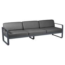 Bellevie Outdoor 3 Seater Sofa - Anthracite/Graphite Grey