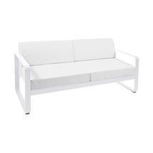 Bellevie Outdoor 2 Seater Sofa - Cotton White/Off White