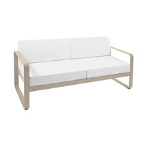 Bellevie Outdoor 2 Seater Sofa - Nutmeg/Off White