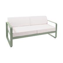 Bellevie Outdoor 2 Seater Sofa - Cactus/Off White